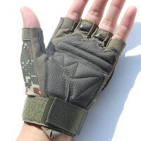 户外运动半指手套男健身锻炼防滑耐磨骑行手套格斗露指