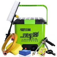 驰航汽车高压洗车器 车载便携式洗车机洗车工具铜头水枪28L