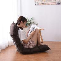 六格懒人沙发榻榻米单人沙发椅折叠床上小沙发靠背椅飘窗椅地板椅