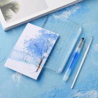 【萌新染卡工具包】 亚克力板彩墨书签手绘新手上墨工具套装滴管