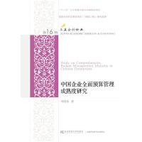 中国企业全面预算管理成熟度研究