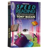 正版 Speed Reading 快速阅读 英文原版工具书 东尼博赞思维导图系列 阅读理解方法 进口英语心理学书籍 全英