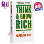 【中商原版】思考致富 英文原版Think and Grow Rich