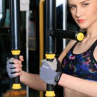 健身手套锻炼女防滑耐磨器械哑铃训练骑行运动女士半指手套薄