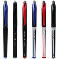 日本进口三菱uni-ball AIir水笔UBA-188顺滑草图笔绘图笔学生用中性笔自由控墨黑科技黑红蓝0.5/0.7