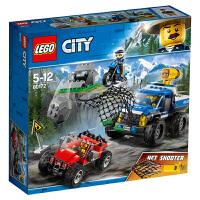 【当当自营】LEGO乐高积木城市组City系列60172 5-12岁山地追击