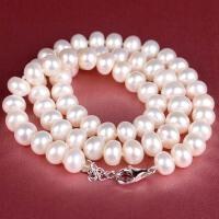 近圆形珍珠项链 001033