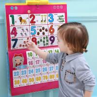 乐乐鱼幼儿童早教启蒙拼音认知宝宝识字看图卡片0-3-6岁有声挂图