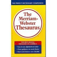 The Merriam-webster Thesaurus韦氏同义词词典 英文原版