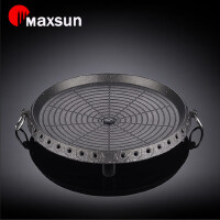 便捷家用户外烧烤炉烤肉盘烤肉锅韩式卡式炉烤盘MG-101麦饭石