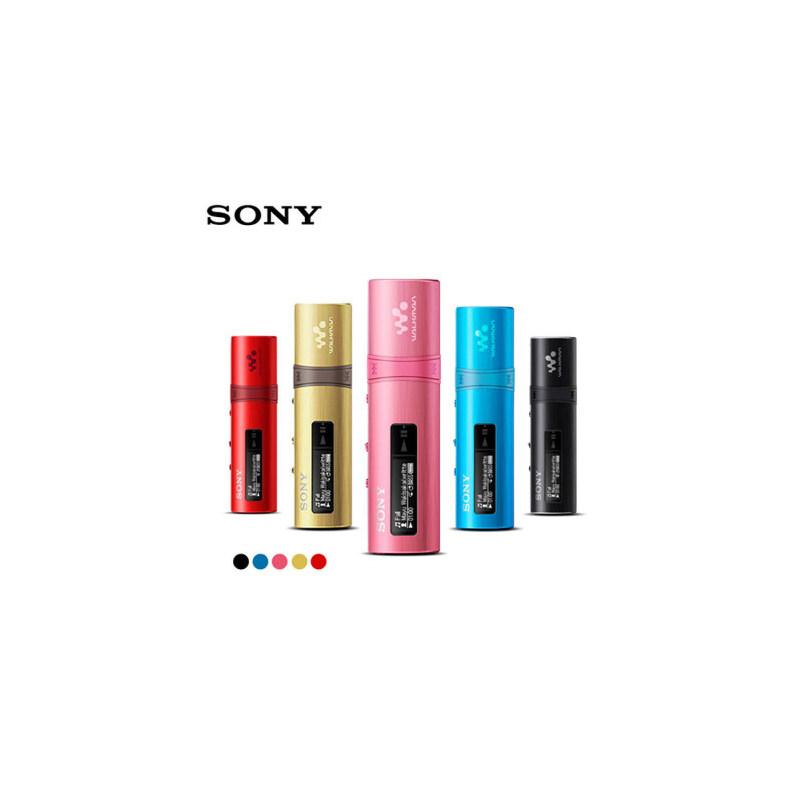 包邮支持礼品卡 Sony/索尼 NWZ-B183F 4G MP3 播放器 迷你 可爱 学生 运动 跑步 随身听 口红大小好评返5元礼券 时尚运动便携 炫彩金属机身