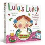 顺丰发货 英文原版 Lulu's Lunch 露露的午餐 精装触摸操作书 幼儿启蒙认知 露露 Lulu系列 Camil