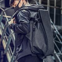 双肩包男士时尚潮流背包大学生书包大容量旅游电脑包休闲旅行