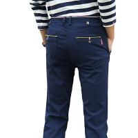 6色可选已质检 商务休闲裤男士弹力裤韩版修身直筒纯棉