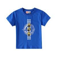 【小黄人IP款】小猪班纳童装男童短袖t恤纯棉卡通打底衫儿童上衣