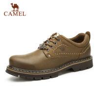 Camel/骆驼低帮男鞋 百搭工装鞋牛皮时尚户外休闲低帮男款大头鞋