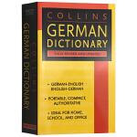 华研原版 德英双语字典 英文原版书 Collins German Dictionary 柯林斯德语英语词典辞典 正版进