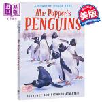 【中商原版】波普先生的企鹅 英文原版 Mr. Popper's Penguins 纽伯瑞儿童文学奖银奖 国际大奖小说