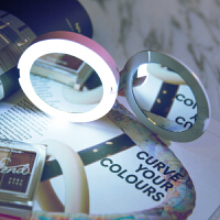oksense魔镜移动电源5000毫安LED灯化妆镜迷你便携创意充电宝女性