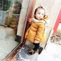 2号直播婴幼儿童装宝宝花朵棉衣棉袄外套上衣百搭款0-5
