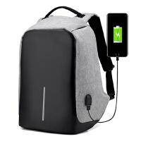 双肩包男多功能防盗背包可充电大学生书包女旅行防泼水商务电脑包