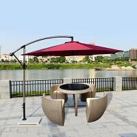 户外露天阳台藤椅三五件套桌椅组合现代休闲创意室外庭院花园家具