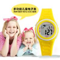 新款儿童防水电子表防震防冻日历星期秒表 女款运动表男孩女孩手表学生手表