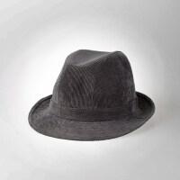 帽子男英伦礼帽老人帽男士爵士帽中老年帽保暖爸爸帽