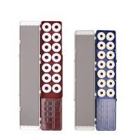 鱼漂盒多功能三层三合一套装全套50cm多层浮漂盒子线盒 +6支漂