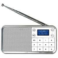 熊猫/PANDA DS-186 数码小音箱数字点歌机插卡便携迷你收音机音响 白色