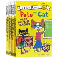 现货正版 I Can Read My first Pete the Cat 皮特猫13册 英文原版 幼儿故事书绘本 全