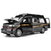 儿童玩具车汽车模型仿真吉姆西GMC美式商务车回力车1:32MVP房车