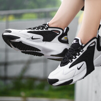 【满199减20,满399减40】幸运叶子 跑步鞋男Nike耐克秋季新款ZOOM 2K复古低帮运动鞋AO0269-101