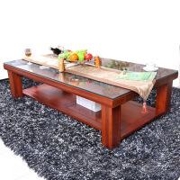 中式家具全实木茶几进口海棠木长茶几北欧风格家具