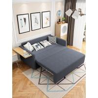 实木沙发床两用可折叠客厅双人小户型储物多功能经济型网红款 1.5米以下
