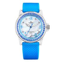 学生手表女孩 防水时尚潮流新款果冻色少女手表石英表