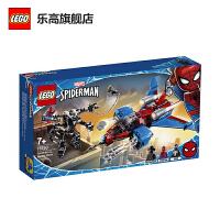 【当当自营】LEGO乐高积木 超级英雄SuperHeroes系列 76150 蜘蛛侠喷气机大战毒液机甲 玩具礼物