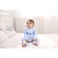 蓓莱乐婴儿童内衣套装新生儿棉衣服278宝宝5春衣服睡衣3个月春款