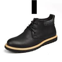 马丁靴 男士高帮皮鞋靴子军靴雪地机车靴 马登棉户外短靴