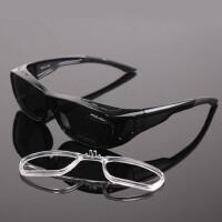 户外近视偏光太阳镜墨镜近视套镜专业司机镜男女夹片镜送近视框