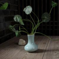 龙泉青瓷 香炉瓶 陶瓷 小花瓶 香道用品 佛具 香具瓶 花插瓶正品