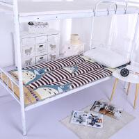 榻榻米床垫1.0/1.2/1.5m床双单人可折叠床垫子学生宿舍床褥褥子