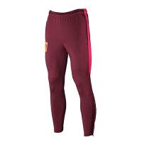 国足足球训练裤速干弹力收腿运动裤中国足深红训练裤队徽