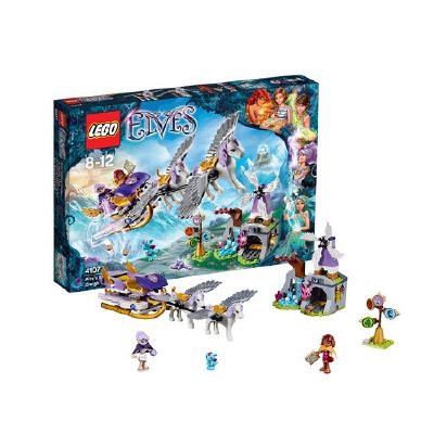 [当当自营]LEGO 乐高 Elves 精灵系列 风之精灵 艾拉的飞马雪橇 积木拼插儿童益智玩具 41077 【当当自营】适合8-12岁,319pcs小颗粒积木