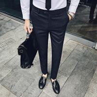 男士西裤修身休闲裤绅士风 XK01 涤纶65%粘胶35%