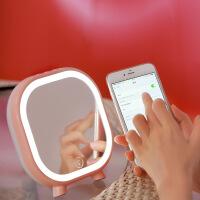 妆镜小夜灯 充电式创意音乐无线蓝牙音响 音箱台灯卧室床头台灯