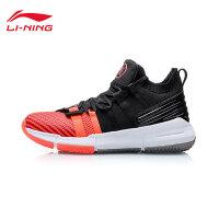 李宁篮球鞋男鞋韦德系列2019新款回弹男士袜子鞋中帮运动鞋