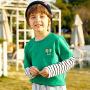 【2件3折到手价:54】小猪班纳童装男童长袖t恤2020春季新款儿童小黄人体恤条纹上衣潮
