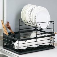 居家家铁艺厨房置物架台面多层碗盘沥水架家用放碗架子碗碟收纳架