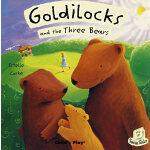 翻翻书 金发女孩Goldilocks and the three bears